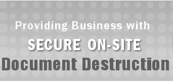 Secure Onsite Document Destruction for Business